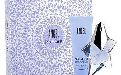 Thierry Mugler Angel dárková kazeta Naplnitelný pro ženy parfémovaná voda 50 ml + tělové mléko 100 ml