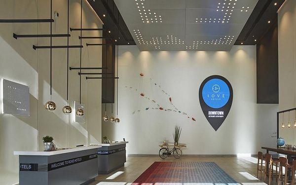 ROVE DOWNTOWN DUBAI, Dubai, Spojené arabské emiráty, Dubai, letecky, bez stravy4