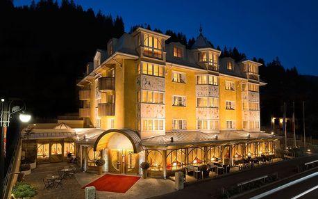 5* Hotel Alpen Suite v oblasti Madonna di Campiglio se snídaní