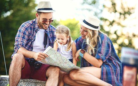 Zábavné rodinné výlety po celé ČR s mapou a hádankami