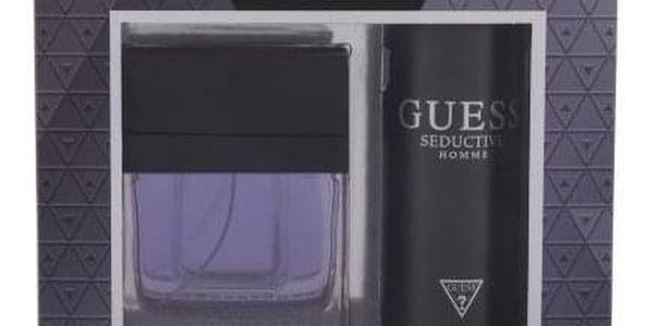 GUESS Seductive Homme dárková kazeta pro muže toaletní voda 100 ml + deodorant 226 ml