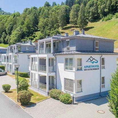 Rakouské Alpy: Aparthotel der Gletscherblick