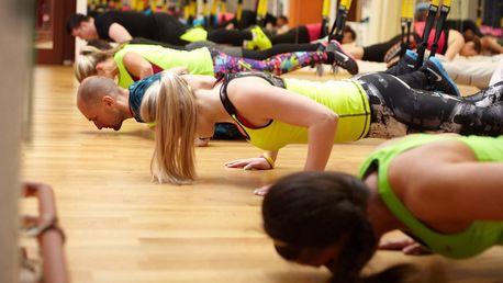 Vstupy na cvičení dle výběru: aerobic, zumba i TRX