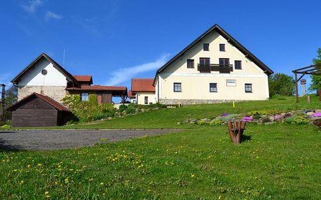 Vysočina: Ubytování na Hájence