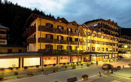 4* Hotel Savoia Palace v oblasti Madonna di Campiglio s polopenzí