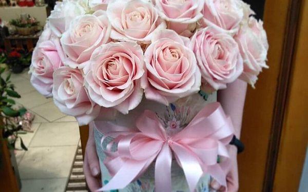 Květinový box s mixem květin (malý)2