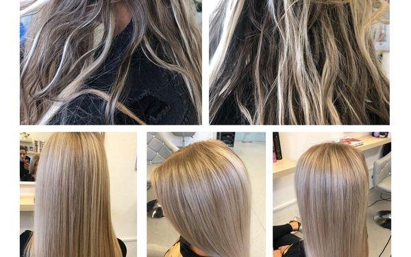 Střih s barvou a Olaplexem (krátké vlasy)4