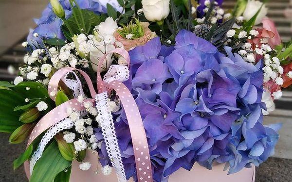 Květinový box s mixem květin (malý)4
