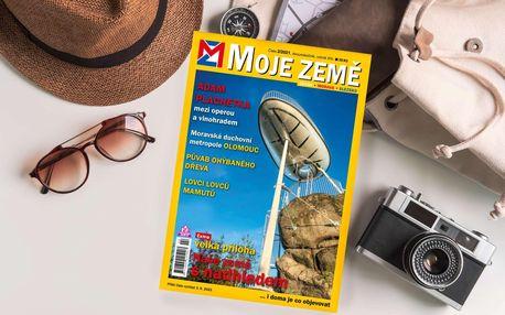 Roční předplatné časopisu Moje Země včetně čísla z minulého roku