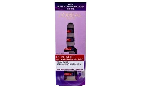 L´Oréal Paris Revitalift Filler HA 7 Day Cure 9,1 ml hyaluronové sérum pro vyplnění vrásek pro ženy
