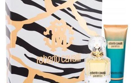 Roberto Cavalli Paradiso dárková kazeta pro ženy parfémovaná voda 50 ml + tělové mléko 75 ml