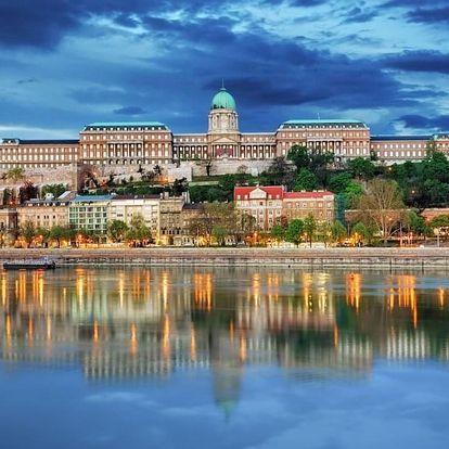 Fantatstický hotel v historickém centru Budapešti - dlouhá platnost poukazu