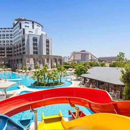 Turecko - Antalya letecky na 1-16 dnů, ultra all inclusive