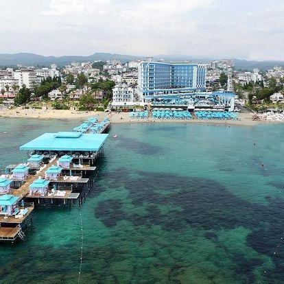 Turecko - Alanya letecky na 1-16 dnů, ultra all inclusive