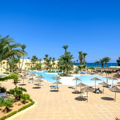 Tunisko - Zarzis letecky na 1-23 dnů, all inclusive