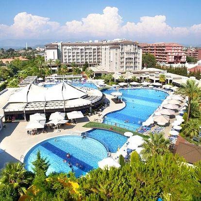 Turecko - Side - Manavgat letecky na 1-16 dnů, ultra all inclusive