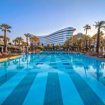 Turecko - Antalya letecky na 1-16 dnů, all inclusive