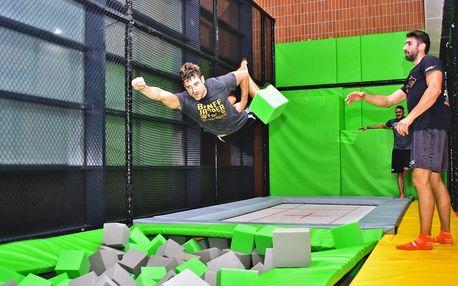 Adrenalin ve FlyZone Parku na hodinu nebo celý den