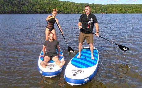 Skupinový kurz paddleboardingu: vstup pro 1–4 os.