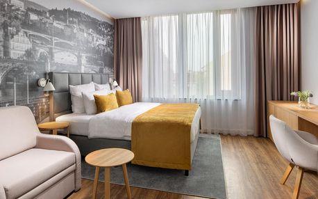 Luxusní rezidence v centru Prahy: snídaně, wellness