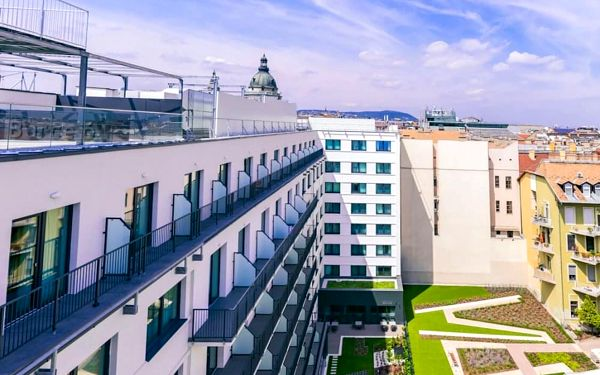 Fantatstický hotel v historickém centru Budapešti  3 dny / 2 noci, 2 os., snídaně4