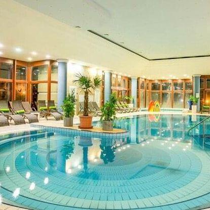 Bükfürdő nedaleko termálů v Greenfield Hotelu Golf & Spa **** s luxusním wellness, golfem a polopenzí s nápoji