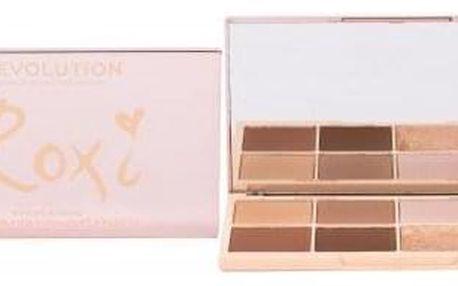 Makeup Revolution London Roxxsaurus Highlight & Contour 20 g paletka pro konturování a rozjasnění pleti pro ženy