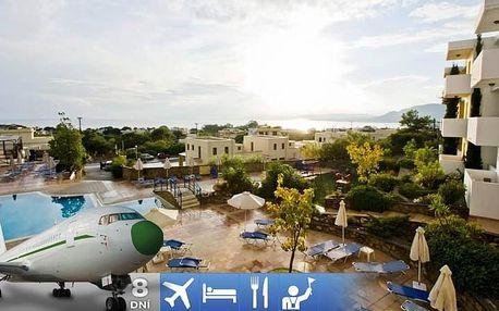 Řecko - Rhodos letecky na 8 dnů, snídaně v ceně