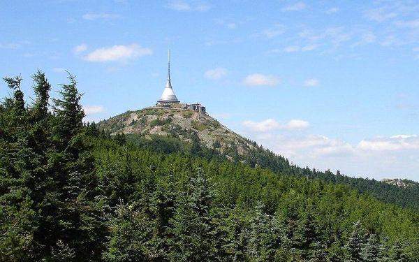 Liberec a Jizerské hory – relaxační pobyt se vstupem do privátního wellness  3 dny / 2 noci, 2 os., snídaně4