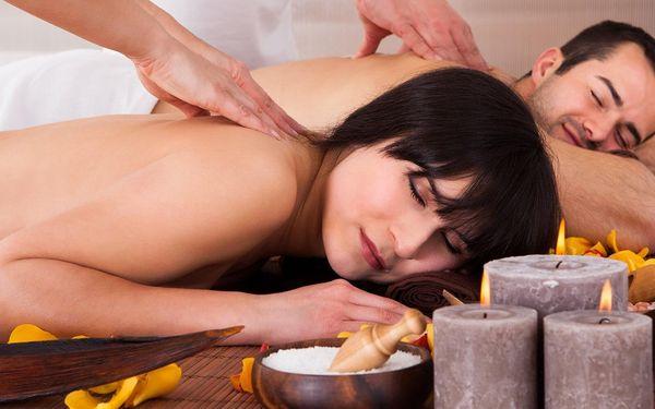 Uvolnění ve dvou: 60minutová párová masáž