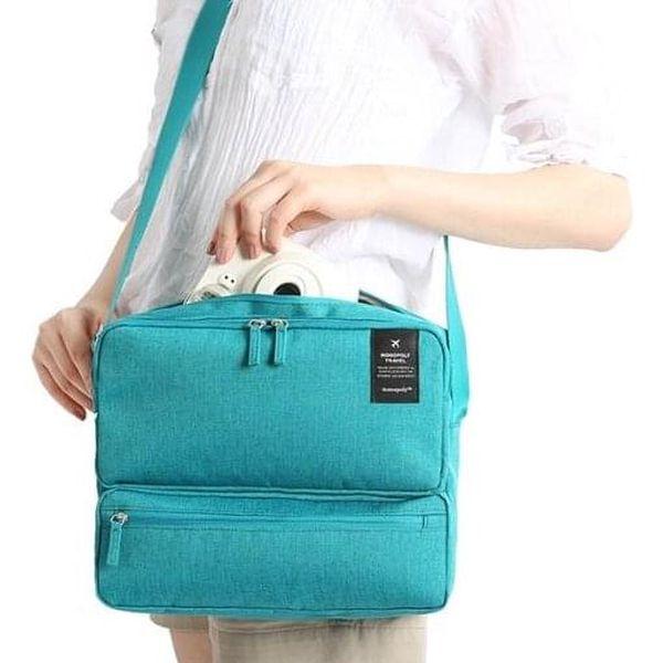 Cestovní taška   Tmavě modrá3