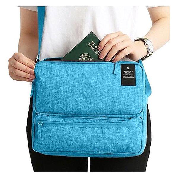 Cestovní taška   Tmavě modrá5