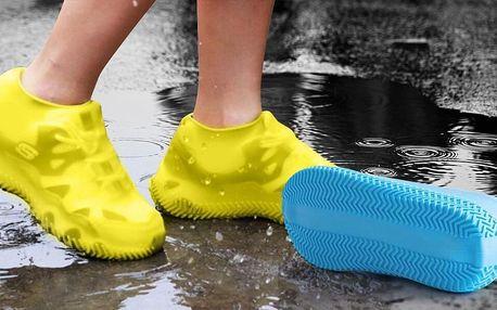 Silikonové návleky na boty proti mokru i špíně