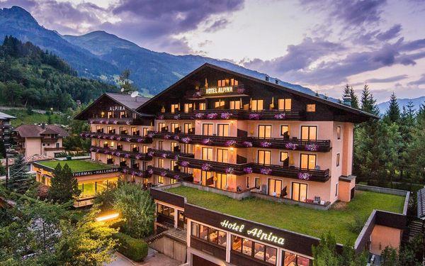 4* Hotel Alpina v Bad Hofgasteinu s polopenzí