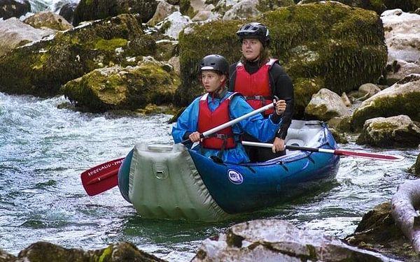 Víkendový rafting na řece Salze pro 1 osobu včetně dopravy2