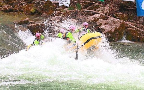 Víkendový rafting na řece Salze pro 1 osobu včetně dopravy3