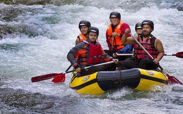 Víkendový rafting na řece Salze pro 1 osobu včetně dopravy4