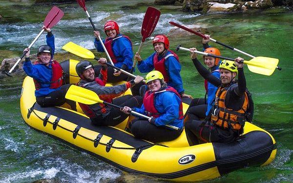 Víkendový rafting na řece Salze pro 1 osobu včetně dopravy5
