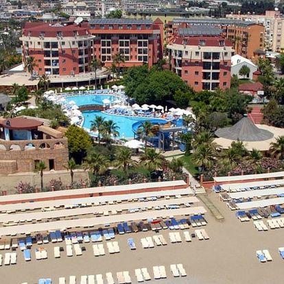 Turecko - Alanya letecky na 8 dnů, all inclusive