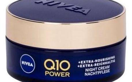 Nivea Q10 Power Anti-Wrinkle + Extra Nourishing 50 ml vyživující noční krém proti vráskám pro ženy
