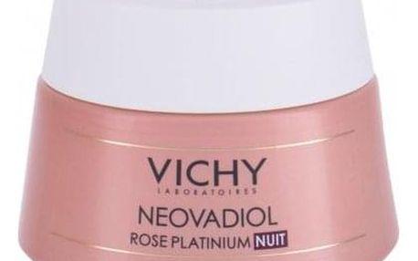 Vichy Neovadiol Rose Platinium Night 50 ml noční revitalizační krém pro zralou pleť pro ženy