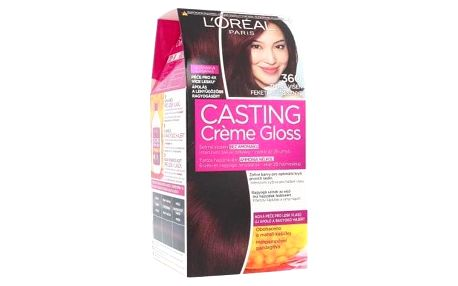 L´Oréal Paris Casting Creme Gloss 48 ml barva na vlasy pro ženy 360 Black Cherry