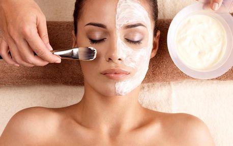 Ošetření pro aknotickou pleť vč. masáže obličeje