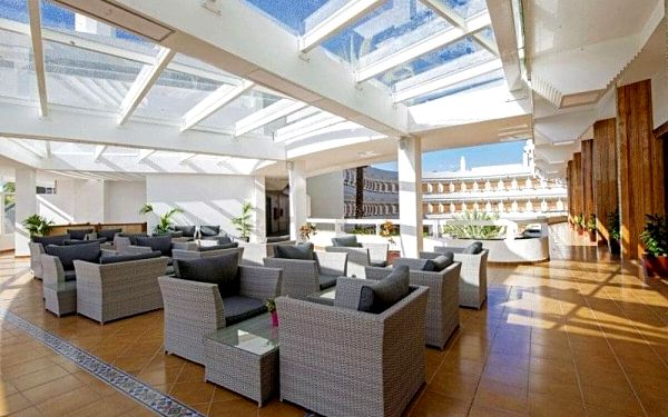Suite Hotel Playa del Ingles, Gran Canaria, Kanárské ostrovy, Gran Canaria, letecky, polopenze2