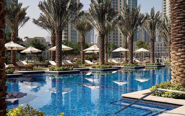 Palace Downtown Dubai, Dubai, Spojené arabské emiráty, Dubai, letecky, snídaně v ceně2
