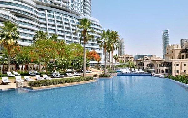 Address Downtown Dubai, Dubai, Spojené arabské emiráty, Dubai, letecky, snídaně v ceně2