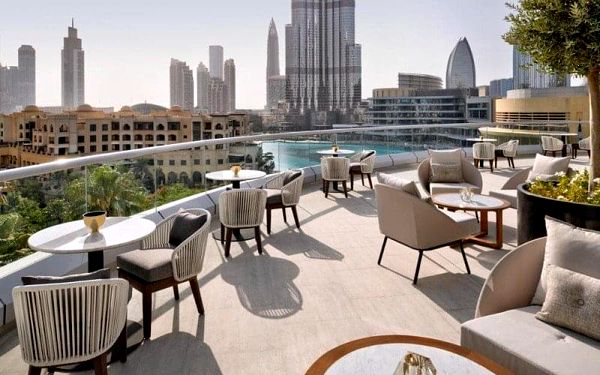 Address Downtown Dubai, Dubai, Spojené arabské emiráty, Dubai, letecky, snídaně v ceně3