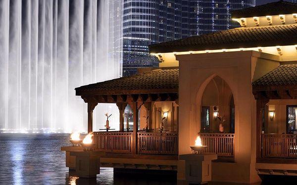 Palace Downtown Dubai, Dubai, Spojené arabské emiráty, Dubai, letecky, snídaně v ceně3