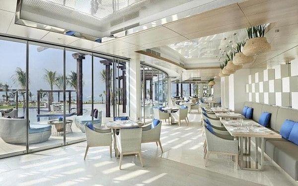Waldorf Astoria Dubai Palm Jumeirah, Dubai, Spojené arabské emiráty, Dubai, letecky, snídaně v ceně2