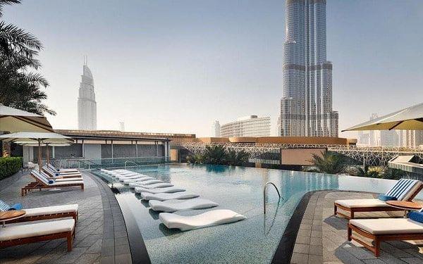 Address Boulevard, Dubai, Spojené arabské emiráty, Dubai, letecky, snídaně v ceně3